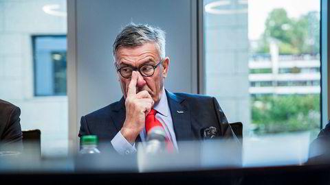 Også Stein Erik Hagen har fått merke børsuroen de siste ukene. Han har store eierandeler i blant annet Sats, Orkla og Komplett Bank.