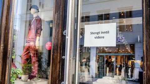 Flere frittstående butikker i Oslo sentrum har allerede stengt, men nå vurderer også flere av de store kjedene butikkstenging.