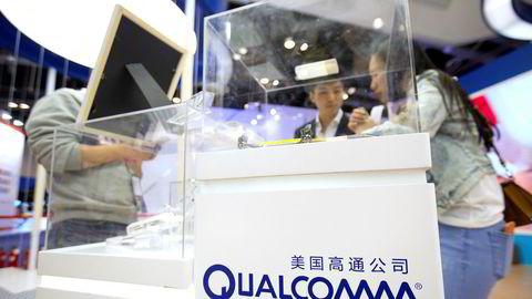 Teknologiselskapet Qualcomm får gigantbot.