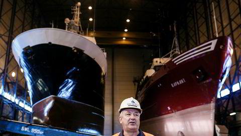 Administrerende direktør Greger Mannsverk i Kimek sliter med å få oljeoppdrag til Kirkenes.