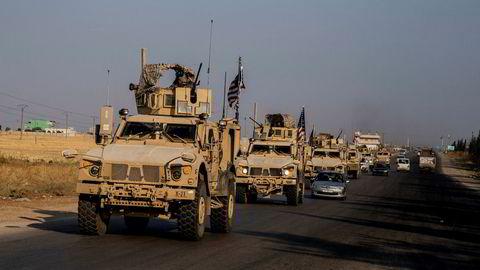 USA har sagt ja til å vokte over oljefelt i Syria.