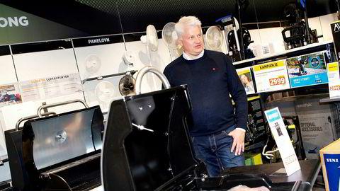Power-sjef Ronny Blomseth har brukt åtte år på å rydde opp i det tapstyngede konsernet. Nå peker pilene riktig vei og i Norge tjener konsernet penger.