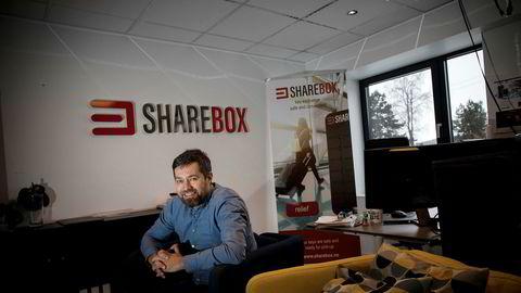 To år etter oppstart priser Arne Eivind Andersen Arendalsselskapet Sharebox til 27 millioner når han nå henter penger til kraftig ekspansjon.