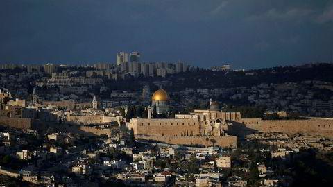 USAs presidents Donald Trumps anerkjennelse av Jerusalem som Israels hovedstad er omstridt. Foto: REUTERS/Ronen Zvulun