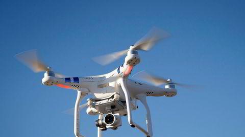 En drone ble tirsdag observert i nærheten av Oslo lufthavn. Illustrasjonsfoto: Heiko Junge / NTB scanpix