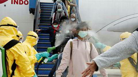 Spray funker neppe på aksjene på Oslo Børs som er Korona-utsatt.