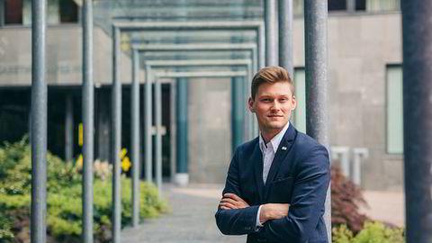 Mats Beldo (24) fra Alta ble tidligere i år valgt som Norsk studentorganisasjons (NSO) yngste leder. I årets stortingsvalgkamp skal han presse politikere til å love flere studentboliger og mer i studiestøtte.