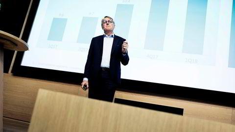 – Skadeforsikring er viktig for kundene våre. Sparebank 1 har vært flinke i dette markedet, sier Rune Bjerke, konsernsjef i DNB.