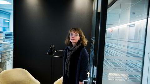 Finans Norge er en av søkerne til å drive et gjeldsregister. Evy Ann Hagen, juridisk direktør i Finans Norge.