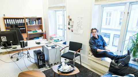 Erik Brataas startet Phonofile i 1999. Her på kontoret i Oslo.
