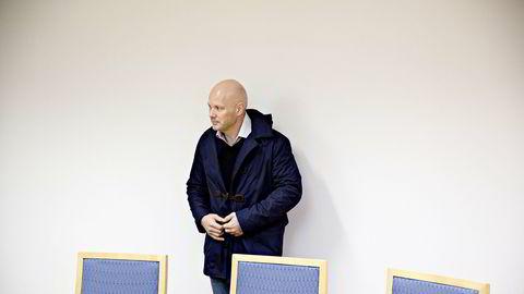Tidligere aksje- og derivatmegler Bjørn Sellæg i retten i 2012.