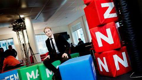 Kommunikasjonsdirektør Discovery Networks i Norge og i Sverige, Espen Skoland.