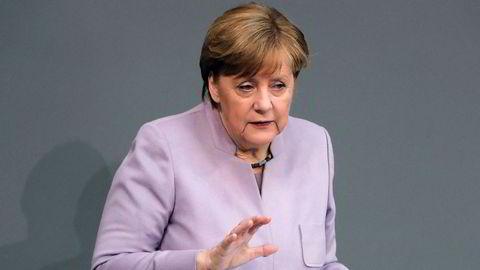 Forbundskansler Angela Merkel kritiserer Tyrkia.