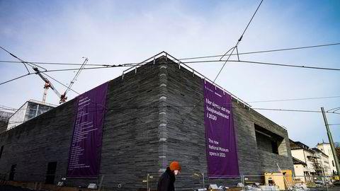 Det nye Nasjonalmuseet som bygges på Vestbanetomta i Oslo er utsatt.