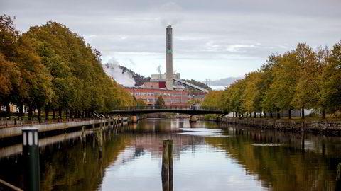 Norske Skog as starter nå konkurssalget av konsernets papirfabrikker. Norske Skog Saugbrugs i Halden er blant fabrikkene som kan få nye eiere.