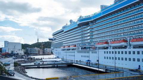 Fra åpningen av Europas største landstrømanlegg, og Norges første for cruise- skip i Kristiansand.