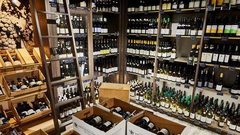 Vinmonopolet solgte rekordmye vin før jul i år.
