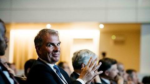 Lufthansas toppsjef Carsten Spohr ønsker å samle flere lavprisselskaper i et eget datterselskap – Eurowings. Tirsdag var han på svippbesøk i Brussel under en konferanse for Airport Council International.