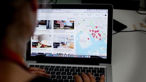 Airbnb lider store tap som følge av koronapandemien.