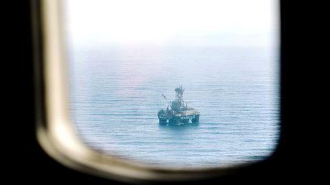 Med nokre veker til hjelp var det akkurat eit slikt sett av informasjon ein lykkast i å oppdrive for Goliat-feltet, skriver forfatteren. Her fra Scarabeo 8 på Goliat i Barentshavet.