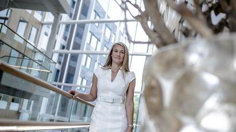 Mathilde Vik Magnussen, påtroppende sjef Kongsberg Digital