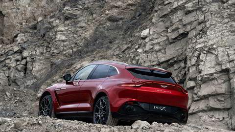 Aston Martin DBX blir det britiske sportsbilmerkets første suv.