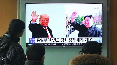 Det USA eventuelt kan gjøre, er å avlyse møtet dersom Kim ikke vil gå inn på reelle forhandlinger om avskaffelse av atomprogrammet nå. Men dette tar seg meget dårlig ut – USA avlyser, vil ikke følge opp sine løfter.