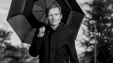Robert Næss, investeringsdirektør i Nordea, fotografert hjemme på Bønes. Foto: Eivind Senneset