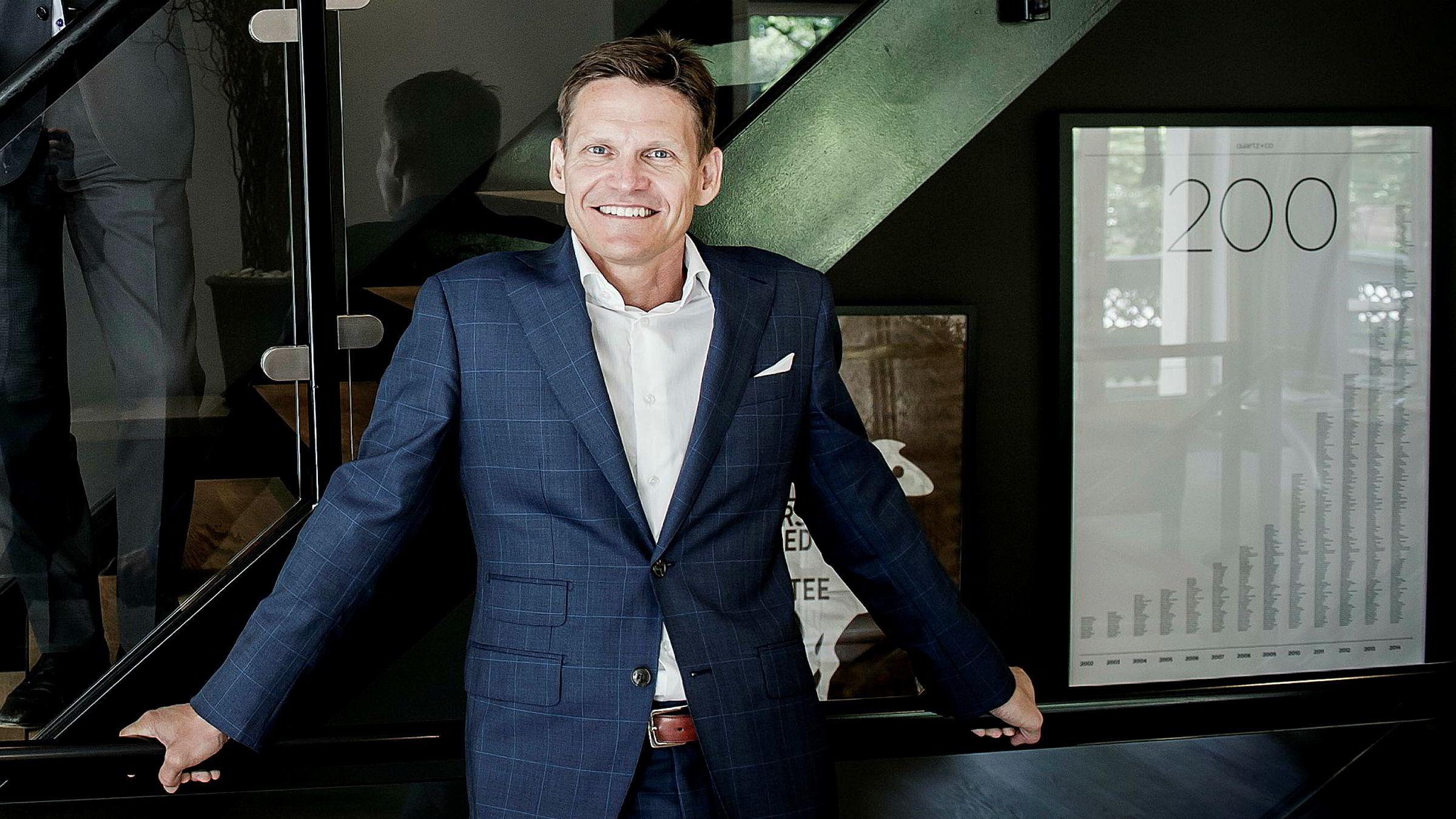 Partner og norgessjef Tune Marschall i Qvartz er fornøyd med fjorårets omsetning i det norske markedet.