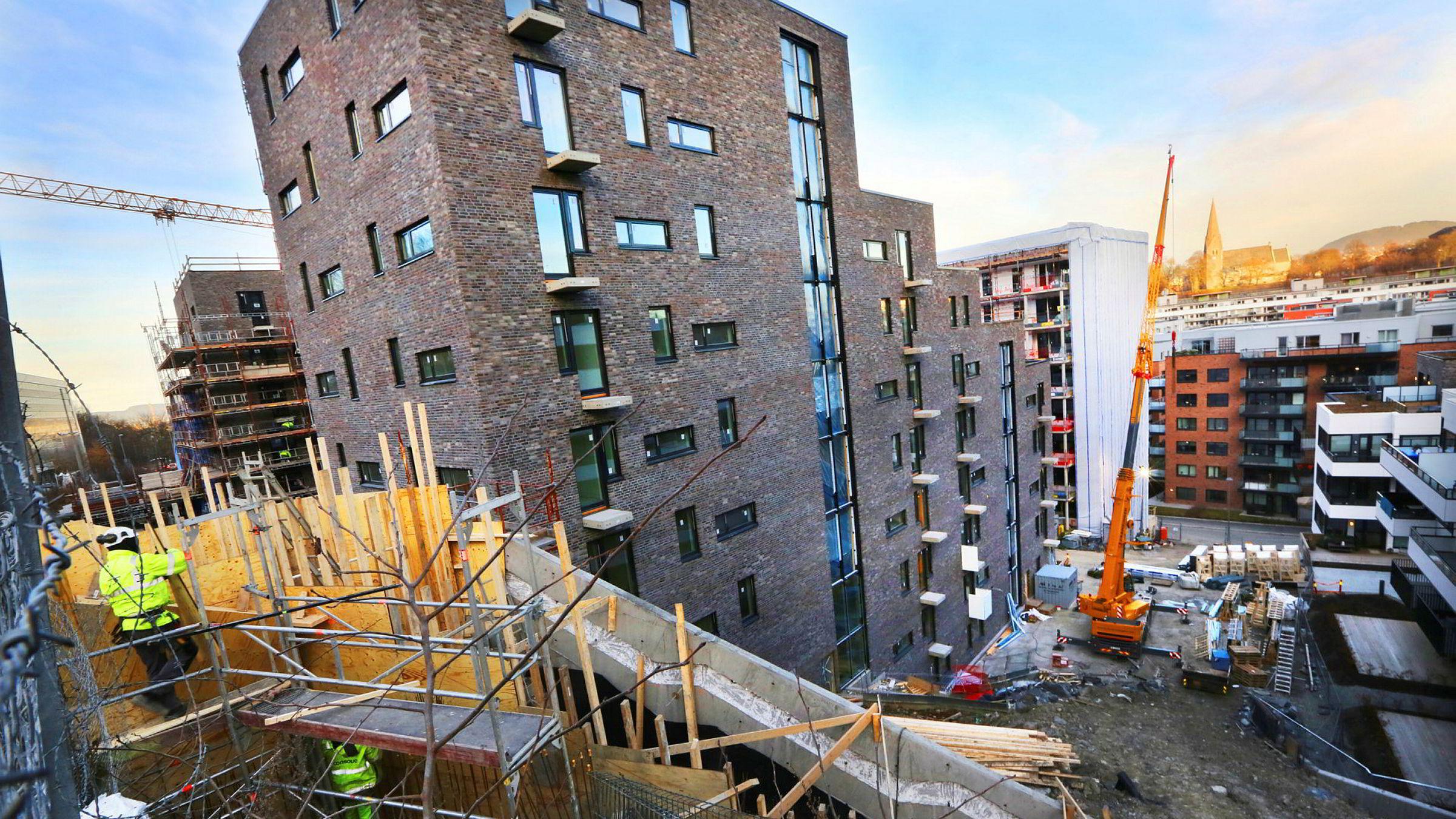 Kværnerbyen er ett av de store utbyggingsområdene i Oslo.