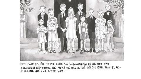 I «O bli hos meg» skildrer Lene Ask flere norske misjonærbarns fortellinger.