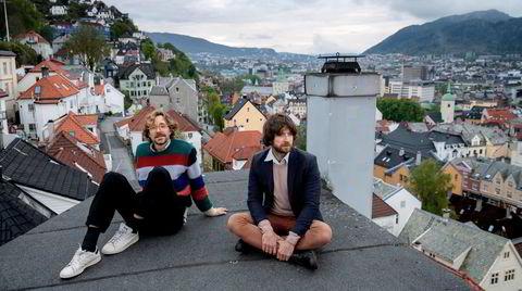 Kings of Convenience er tilbake: Erlend Øye (til venstre) og Eirik Glambek Bøe.