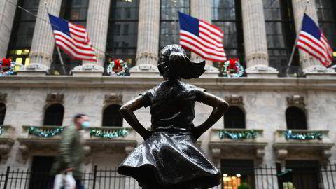 Aksjemeglerne på Wall Street går inn i førjulstiden med en fantastisk måned bak seg.