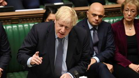 Storbritannias statsminister Boris Johnson skriver i et brev til EUs president Donald Tusk at han har tro på at de kan forlate unionen 31. oktober, som planlagt, selv om de nå har bedt om en utsettelse.