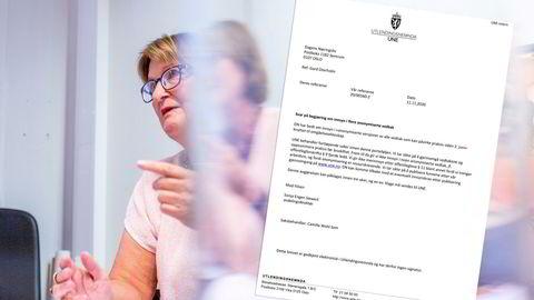 UNE har avvist å gi innsyn i vedtakene som avgjør saken. Her er avtroppende direktør Ingunn-Sofie Aursnes.