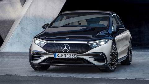 EQS er Mercedes fjerde elbil i EQ-serien, etter kompakt-suven EQC, den enda litt mindre EQA og den store flerbruksbilen EQV.
