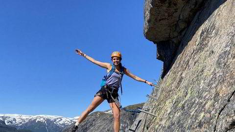 Sandra Bolstad er mest stolt av å ha motta idrettsstipend på universitetet i USA.