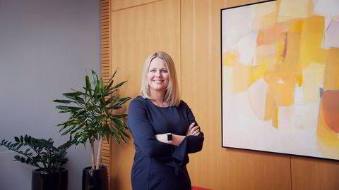 Her er Frida Blomgren statssekretær i Kulturdepartementet. Etter at hun sluttet, jobbet Blomgren opp mot de gamle regjeringskollegaene.
