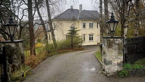 Vettakollen-boligen er bygget i jugendstil og har 373 kvadratmeter med primærrom.