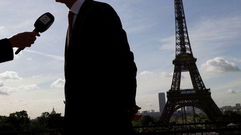 Frankrike er ikke på noe «ytterpunkt» når det gjelder å løfte frem EU som en spesiell partner for Nato», skriver Frankrikes ambassadør Pierre-Mathieu Duhamel. Her Natos generalsekretær Jens Stoltenberg.