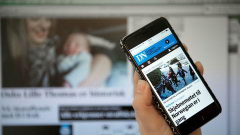 Hele 70 prosent av den digitale lesingen er nå på mobil.