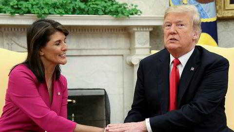 USAs tidligere FN-ambassadør Nikki Haley med oppsiktsvekkende påstander i ny bok.
