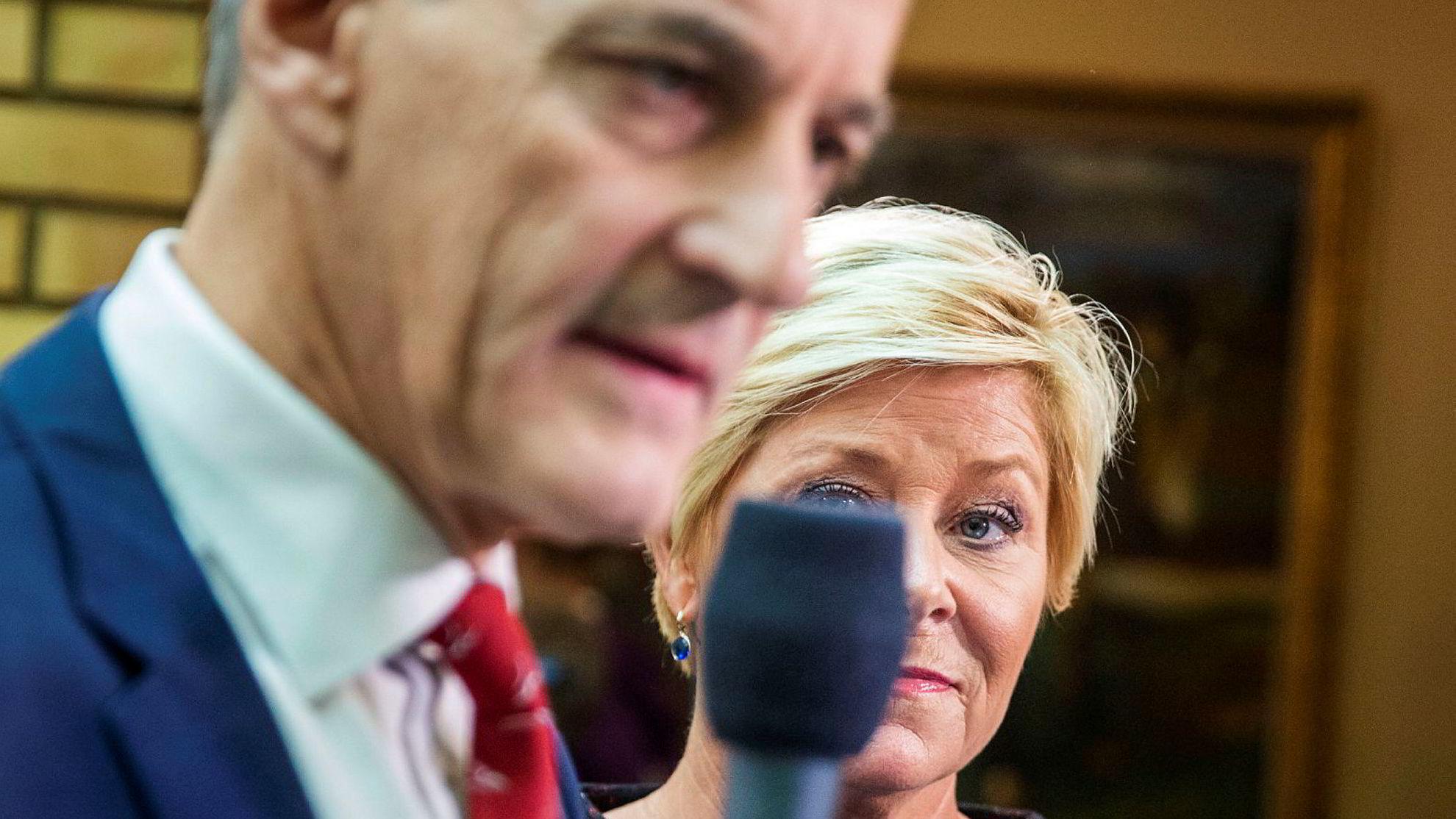 «Siv Jensens parti hadde bygget seg stort på billig retorikk mot fondets grunnprinsipper. Disse har overlevd selv hennes seks år ved roret», skriver Arbeiderpartiets leder Jonas Gahr Støre.