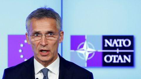 Nato-sjef Jens Stoltenberg.