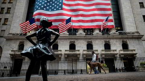 Investorene på Wall Street ser med optimisme på gjenåpningen av økonomien.