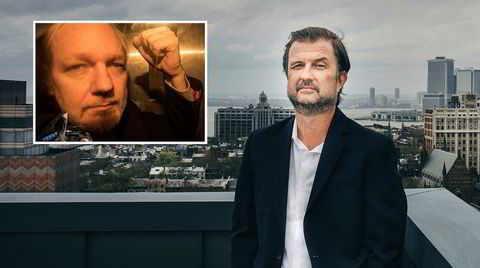 Den norskamerikanske advokaten Tor Ekeland er kjent som «hackernes advokat». Han antyder at USAs sak mot Julian Assange (innfelt) først og fremst er politisk motivert.