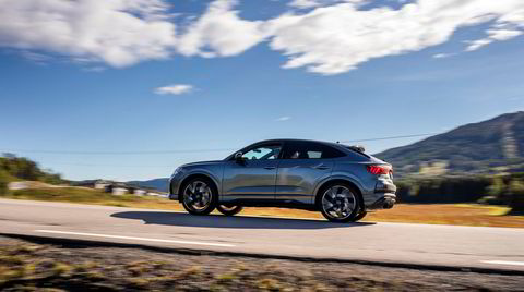 Audi lanserer for første gang RS Q3 i den sporty Sportback-versjonen.
