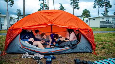 I år skal «alle» på camping: – Dette er sjarmen med norsk sommer. Eller?