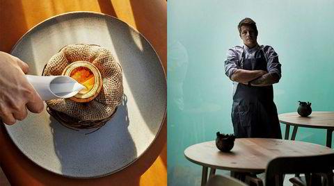Stjernepudding. Med mel av fermentert bygg og en topping av modnet silderogn, er Under og kokk Nicolai Ellitsgaards fiskepudding en silkemyk idealversjon av den norske middagsklassikeren.
