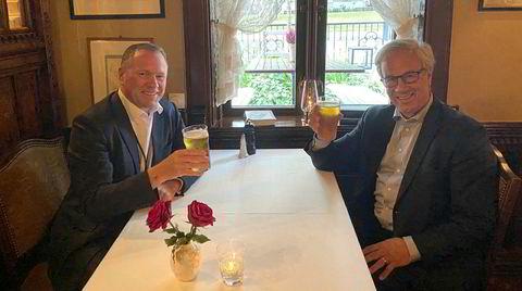 Nå er de skuls. Milliardær og oljefondssjef Nicolai Tangen får ølen sentralbanksjef Øystein Olsen «skylder» ham.